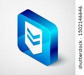 isometric chevron icon isolated ... | Shutterstock .eps vector #1502146646