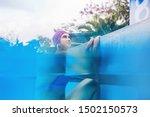 caucasian woman in vintage... | Shutterstock . vector #1502150573