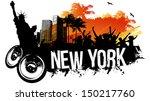 new york party   Shutterstock .eps vector #150217760