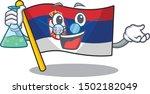 professor serbia flag flown on... | Shutterstock .eps vector #1502182049