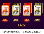 set of four jacks playing cards ...