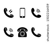 mobile phone icons smartphone...