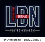 typography modern  varsity... | Shutterstock .eps vector #1502225879