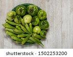 Fresh Organic Green Tomatoes...