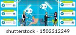 business use of near field... | Shutterstock . vector #1502312249