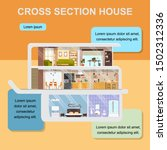 building  interior design or... | Shutterstock . vector #1502312336