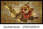 vector angular mosaic with...   Shutterstock .eps vector #1502320019