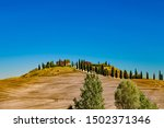 Typical Scenic Tuscan Landscape ...