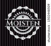 moisten silvery badge. vector... | Shutterstock .eps vector #1502448509