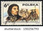 poland    circa  1975  a stamp...   Shutterstock . vector #150256793