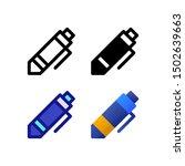 ballpoint logo icon design in...