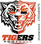 tigers football team design... | Shutterstock .eps vector #1502684870