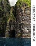 Vestmanna Cliffs In The Faroe...