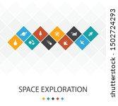 space exploration trendy ui...