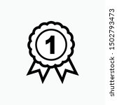 badge icon   vector  sign and... | Shutterstock .eps vector #1502793473
