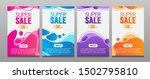 vector modern fluid for big... | Shutterstock .eps vector #1502795810