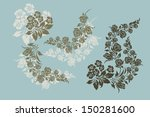 vector ornamental decorative... | Shutterstock .eps vector #150281600
