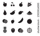 set of fruits vector...   Shutterstock .eps vector #1502816000