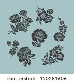 vector ornamental decorative... | Shutterstock .eps vector #150281606