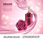 realistic spray bottle and... | Shutterstock .eps vector #1502830529