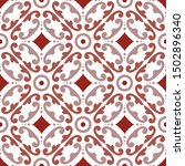 mexican talavera  vintage... | Shutterstock .eps vector #1502896340