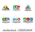 Set Of Triathlon Event Logo ...