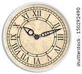 antique clock. image of clock... | Shutterstock .eps vector #150292490