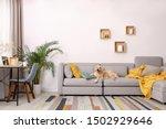Modern Living Room Interior....