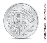 Australian Ten Cent Coin In...