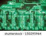 Electrical circuit - stock photo