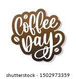 1 october international coffee... | Shutterstock .eps vector #1502973359