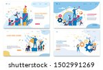 prompt banner it written sales... | Shutterstock .eps vector #1502991269