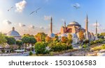 Beautiful view on hagia sophia...