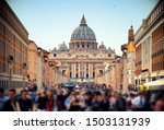 View Of St. Peter's Basilica I...