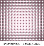 geometric ornamental vector... | Shutterstock .eps vector #1503146033