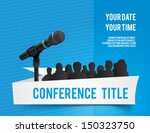 conference template... | Shutterstock .eps vector #150323750