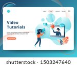 landing page video tutorials...