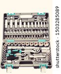 Socket Wrench Toolbox Isolated...