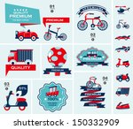 set of travel banners | Shutterstock .eps vector #150332909