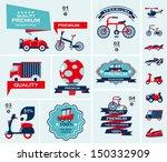 set of travel banners | Shutterstock .eps vector #150332909