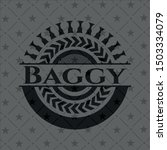 baggy dark badge. vector... | Shutterstock .eps vector #1503334079