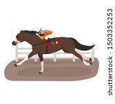 vector flat illustration of... | Shutterstock .eps vector #1503352253