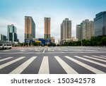 the square of the city ... | Shutterstock . vector #150342578