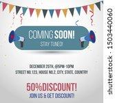 coming soon post for social... | Shutterstock .eps vector #1503440060
