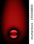 power button red hexagon...   Shutterstock . vector #150348800