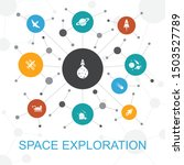 space exploration trendy web...
