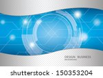 abstract technology background... | Shutterstock .eps vector #150353204