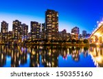 modern urban city skyline... | Shutterstock . vector #150355160