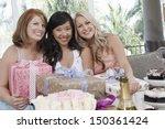 portrait of multiethnic women... | Shutterstock . vector #150361424