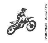 motocross logo  motor cross...   Shutterstock .eps vector #1503614549